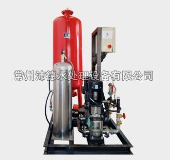 常压式自动定压补水装置带单独真空脱气装置侧面