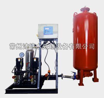 常压式自动定压补水装置带单独真空脱气装置正面
