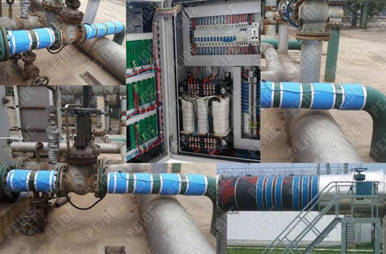 电子感应水处理器项目应用图片