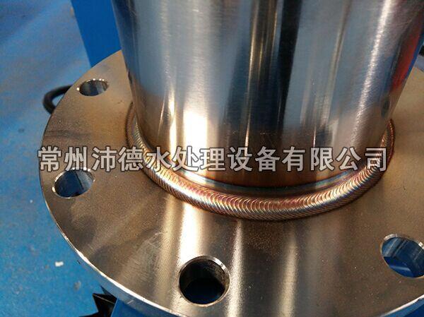 山泉水矿泉水溴酸盐去除设备法兰焊接效果图