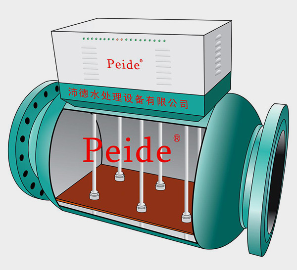 电子除垢仪内部结构
