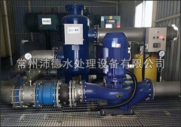 物化全程水处理器安装现场图1