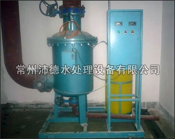 物化全程水处理器安装现场图2