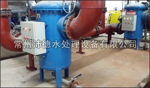 物化全程水处理器安装现场图3
