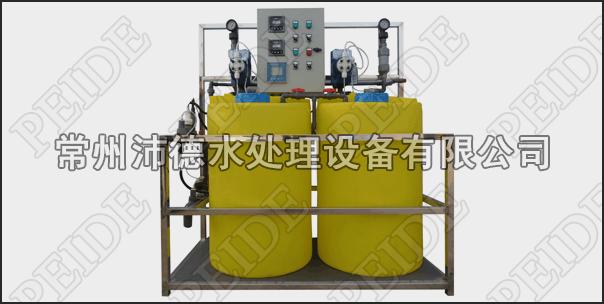 两泵两桶+PH控制+浓缩倍数控制+腐蚀率控制自动加药装置