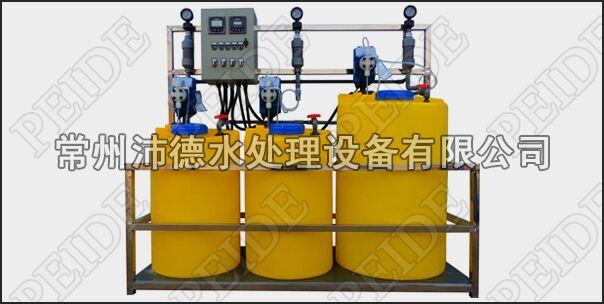 三泵三桶+PH控制+浓缩倍数控制自动加药装置