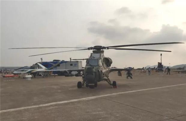 武直10直升机霸气十足