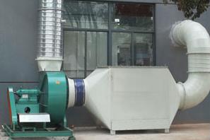 活性炭吸附箱工程案例2