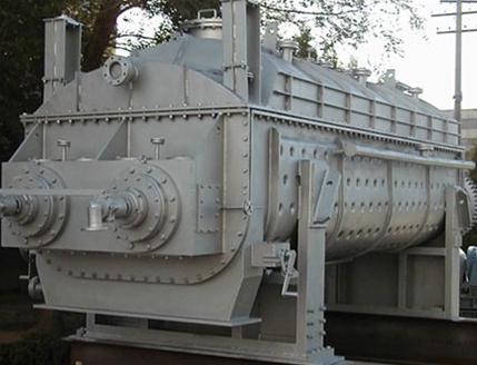 空心浆叶式污泥干化系统(化工污泥)