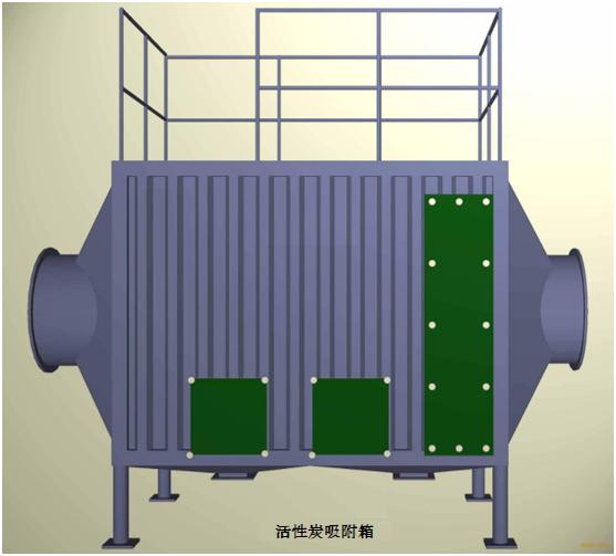 活性炭吸附箱结构图2