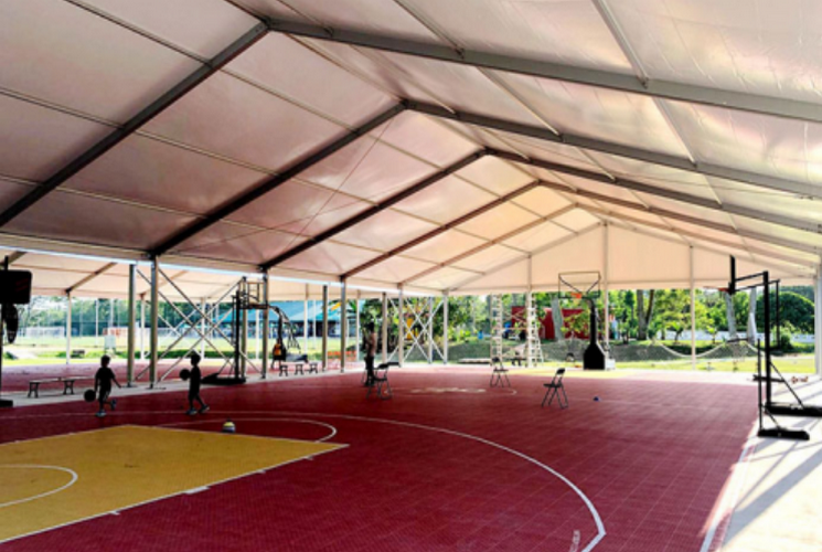 篮球馆篷房
