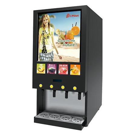 (餐饮用)商用冰、热饮新鲜果汁现调机-花冠4S领先版(动态屏版)