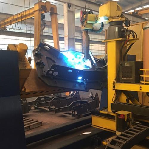 挖掘机上下架焊接机器人